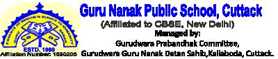 Guru Nanak Public School, Cuttack